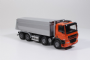 Tekno DAF CF Hyva Tipper in Orange